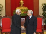 Leaders welcome Indian Vice President