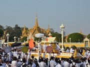 Overseas Vietnamese pay tribute to ex-Cambodian King