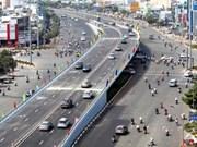 Work starts on HCM City's third steel overpass