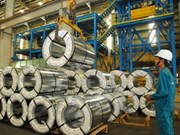 Industrial production rises in January