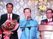 Lao Deputy PM joins OV to celebrate Tet