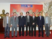 Deputy PM pays Tet visit to Vietnam News Agency