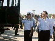 Prime Minister visits naval troops