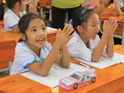 US congressmen discuss children welfare with Vietnam