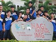 Hoang Anh Gia Lai-Arsenal-JMG Academy eyes Europe