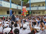 Vietnamese students to learn climate change