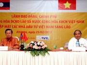 Vietnam, Laos encourage Vietnamese investors