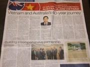 VN, Australia diplomatic ties highlighted