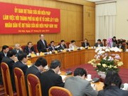 Constitution amendment drafting committee works with Hanoi