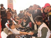 Annual blood donation festival starts