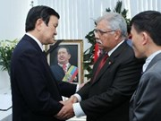 State leader pays tribute to Venezuelan President