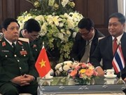 Vietnam, Thailand to boost military ties