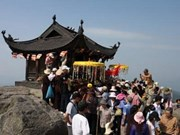 World Heritage title eyed for Yen Tu Buddhism relic
