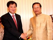 Vietnam State Audit delegation visits Laos