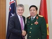 Australia appreciates VN defence minister's visit