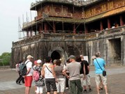Hue: Noon Gate conservation starts