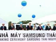 Samsung builds 3.2 bn USD complex in Thai Nguyen