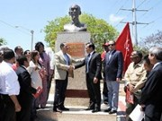 Ho Chi Minh monument inaugurated in Dominica