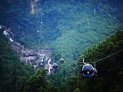 Toc Tien Waterfall-Indochine cable car line operational