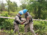 Quang Tri removes unexploded ordnance