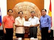 OVs in Laos assist Truong Sa islanders