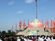 Flag raising ceremony marks reunification day