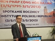 Polish Constitution Day marked in HCM City