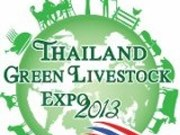 Thailand Green Livestock Expo 2013 takes place