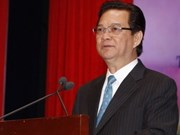 PM Nguyen Tan Dung leaves for Russia, Belarus