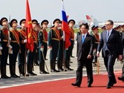PM Nguyen Tan Dung begins Russia visit