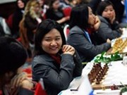 Chess players compete at Asian Champs