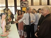 Exhibition celebrates Buddha's birthday