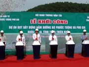 Work starts on tunnels in Thua Thien-Hue province
