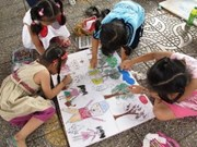 Children's art contest marks Vietnam-Australia ties