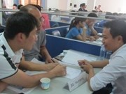 Job bazaar for guest workers from RoK