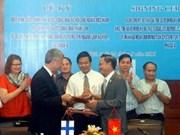 Finland helps Vietnam develop forest info system