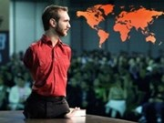 Nick Vujicic inspires Vietnam's audiences