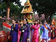 King Le Thai To's coronation celebrated