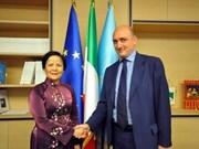 Hanoi promotes cooperation with Italy's Lazio region