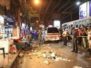 Blast injures seven in Bangkok shopping area