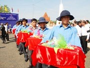 Vietnamese martyrs' remains returned from Cambodia