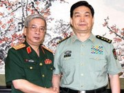 Vietnam, China vow to boost defence ties