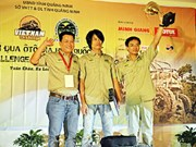 Local duo drive to off-road victory in Quang Ninh