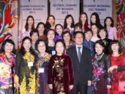 Global Summit of Women wraps up