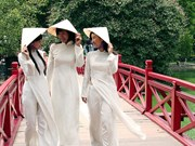Vietnamese Ao dai honoured at sea festival