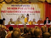 Fifty years of southern Buddhist movement reviewed