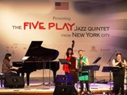 US Jazz quintet Five Play to perform in central cities