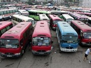 Hanoi asked to speed up bus plan