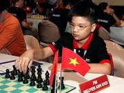 Vietnamese child prodigy wins U16 title at SEA chess