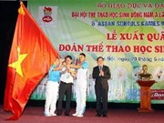 Vietnamese athletes ready for 5th SEA student sports festival